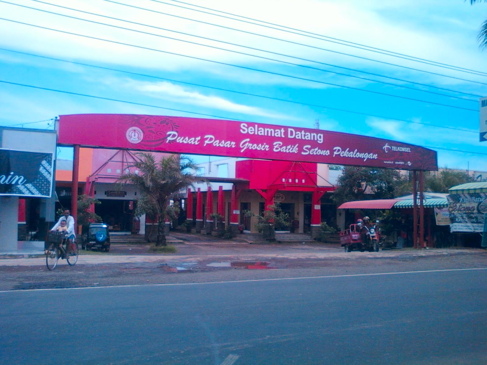 3 pasar batik terbesar  Pusat Grosir Baju Batik Modern Pekalongan