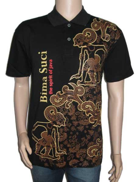 Model Kaos Batik Modern Unik dan Keren Terbaru