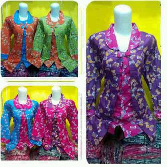 baju batik modern pekalongan – Batik Blouse Bolero b5d2ef1d5c