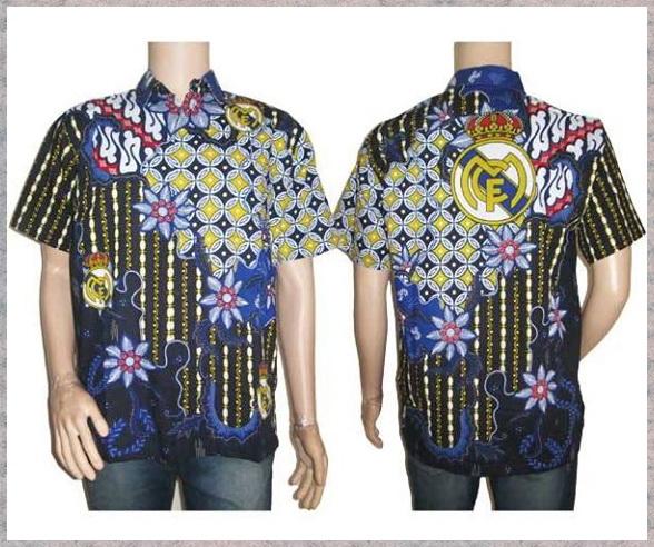 Hem Batik bola  Pusat Grosir Baju Batik Modern Pekalongan Murah