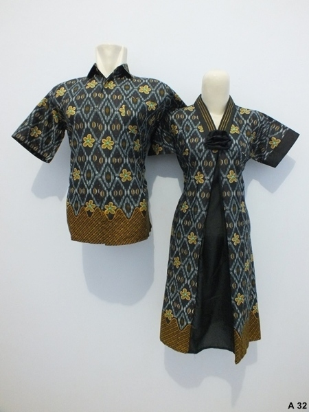 Sarimbit-Dress-Batik-A32