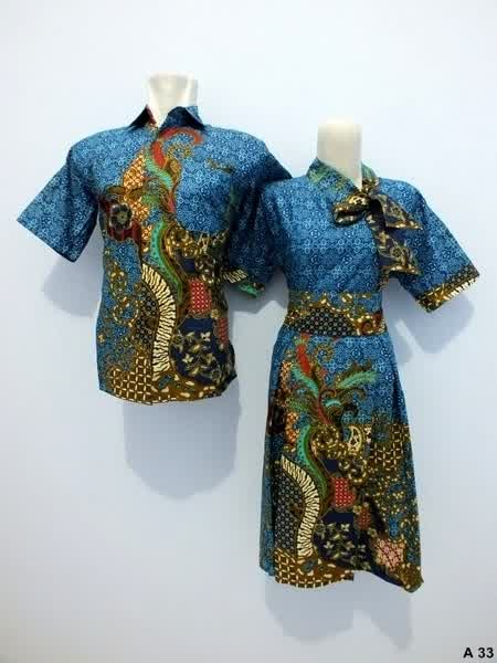 Sarimbit-Dress-Batik-A33