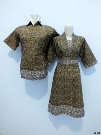 Sarimbit-Dress-Batik-A34