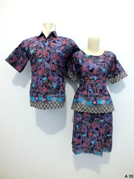 Sarimbit-Dress-Batik-A35