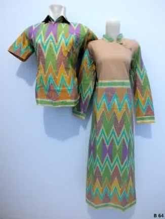 Sarimbit-Gamis-Batik-B64