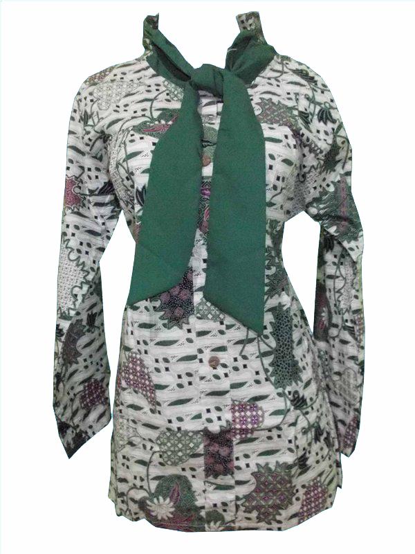 batik pekalongan atasan dasi ZN 39 (2)