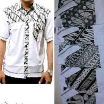 Hem Batik Aplikasi  Pusat Grosir Baju Batik Modern Pekalongan Murah