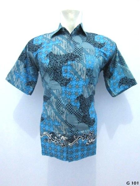 kemeja-batik-G101