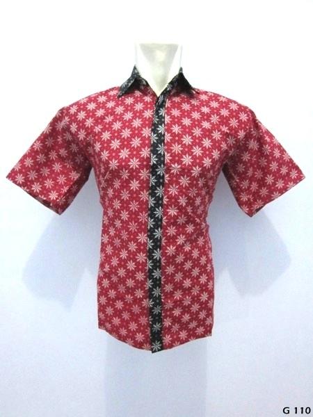 kemeja-batik-G110