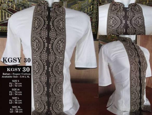 batik argreen koko 8
