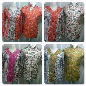 batik argreen top