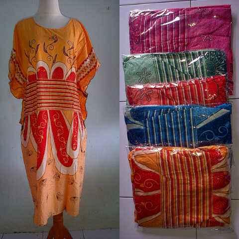 batik argreen daster 2