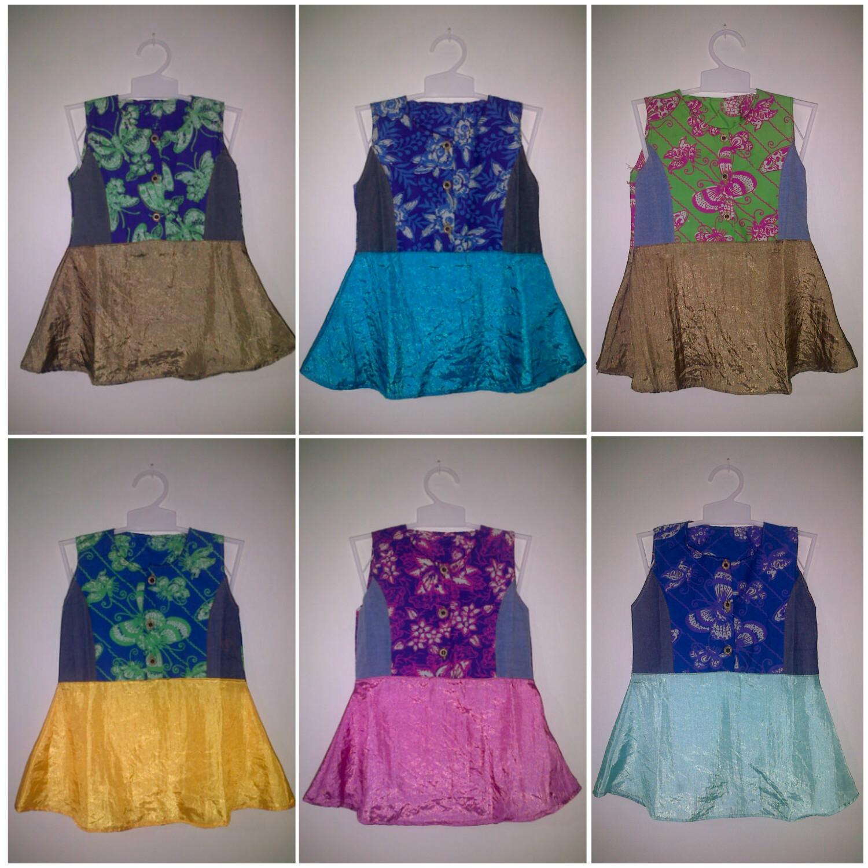 Baju Batik Anak Dress Pusat Grosir Baju Batik Modern Pekalongan