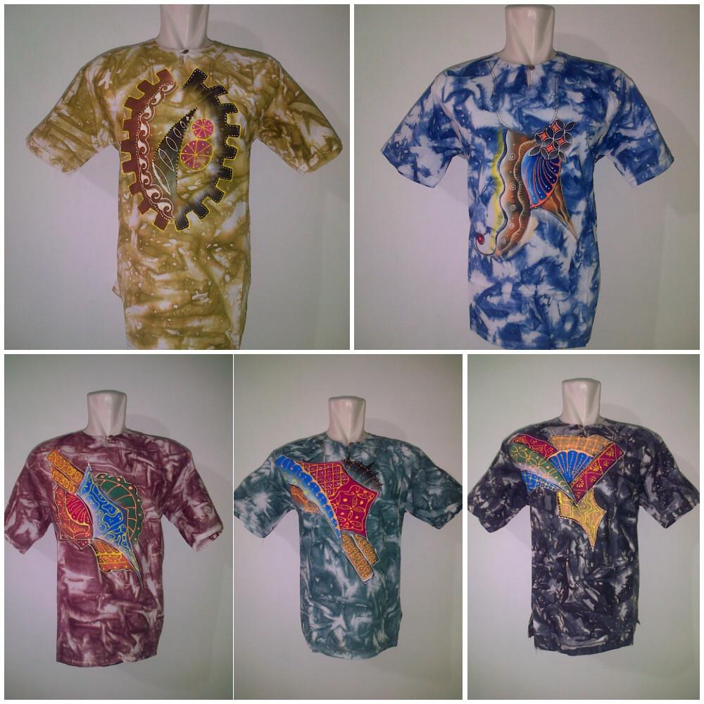 Kemeja Batik Lukisan  a1c8e1dd13