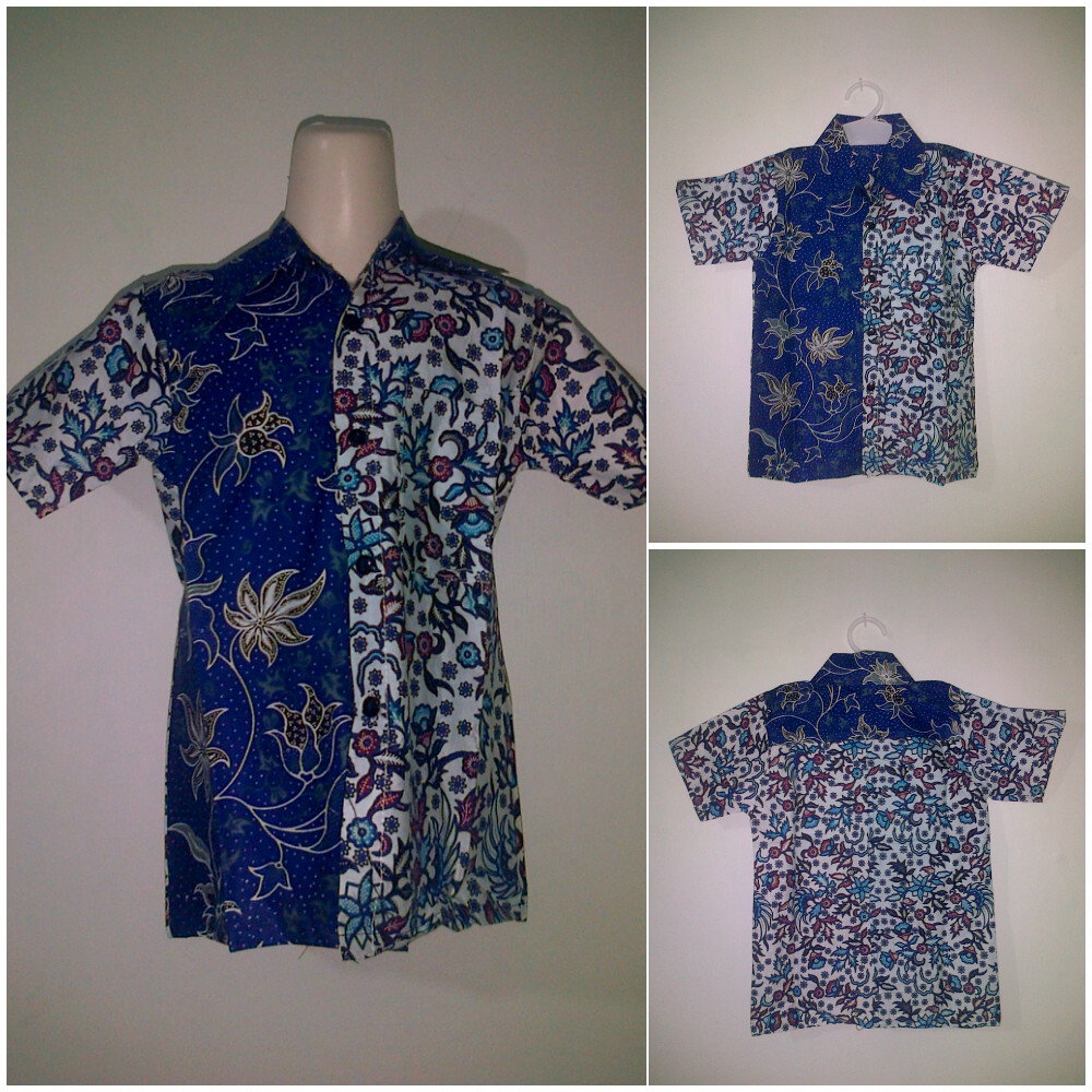 Baju Batik Anak Hem  Pusat Grosir Baju Batik Modern Pekalongan Murah
