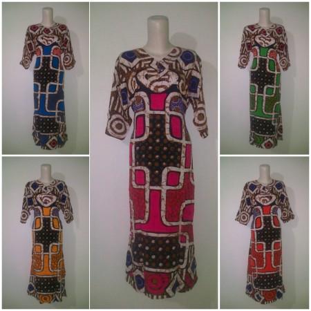 sekdress batik