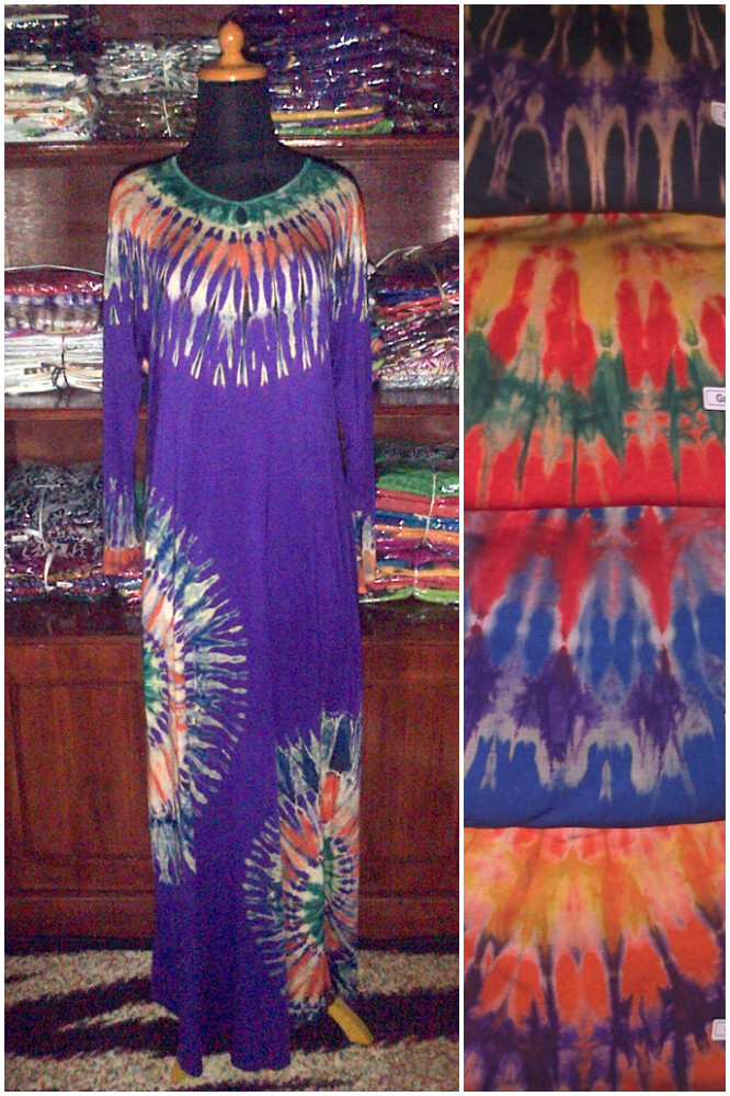 Baju Batik Modern Pekalongan Gamis Jemputan Pelangi