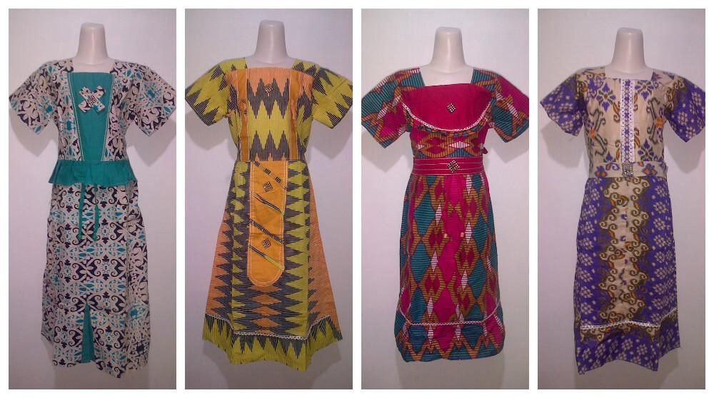 Baju Batik Anak Gamis  Pusat Grosir Baju Batik Modern Pekalongan