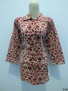 Blouse batik argreen D25