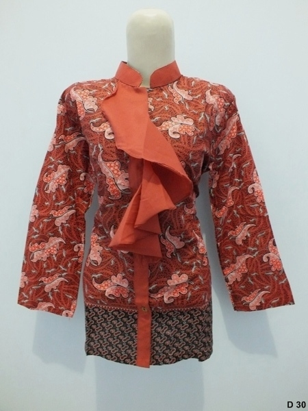 Blouse batik argreenD30