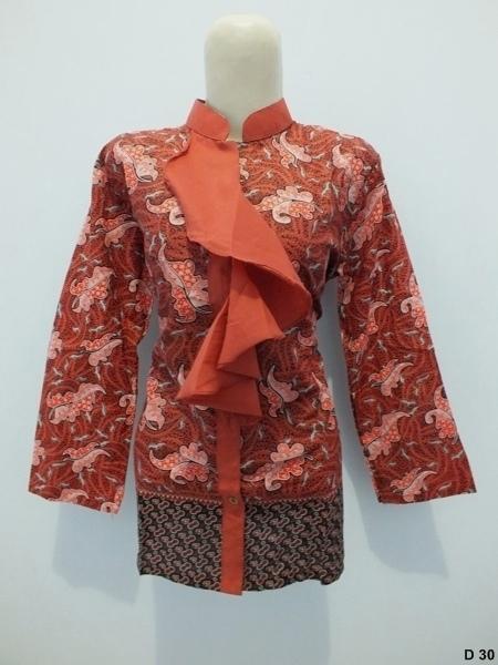 Blouse batik argreenD30
