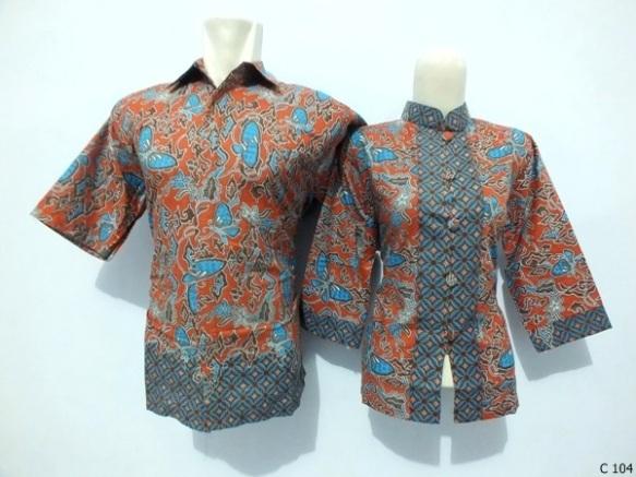 sarimbit blouse batik argreen C104