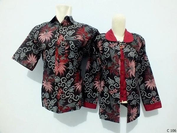 sarimbit blouse batik argreen C106