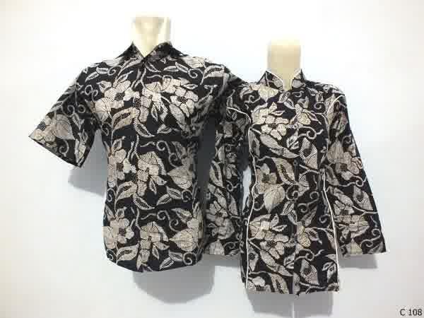 sarimbit blouse batik argreen C108