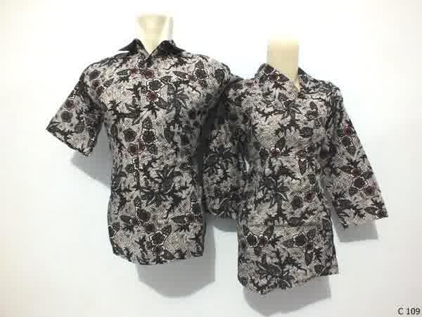 sarimbit blouse batik argreen C109