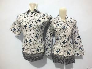 sarimbit blouse batik argreen C111