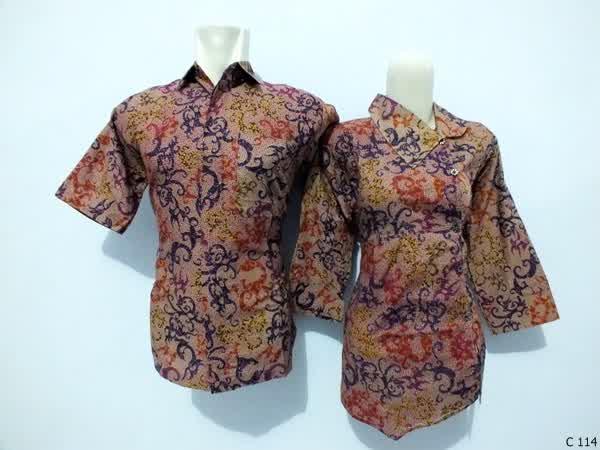 sarimbit blouse batik argreen C114