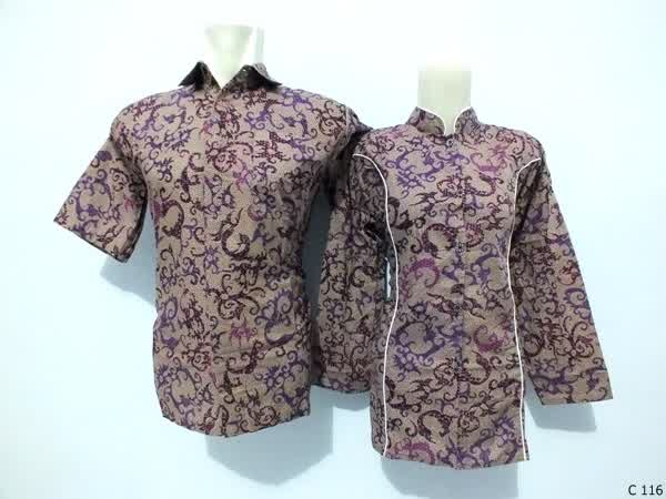sarimbit blouse batik argreen C116
