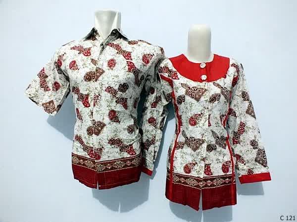 sarimbit blouse batik argreen C121