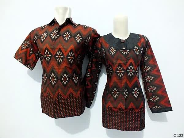 sarimbit blouse batik argreen C122
