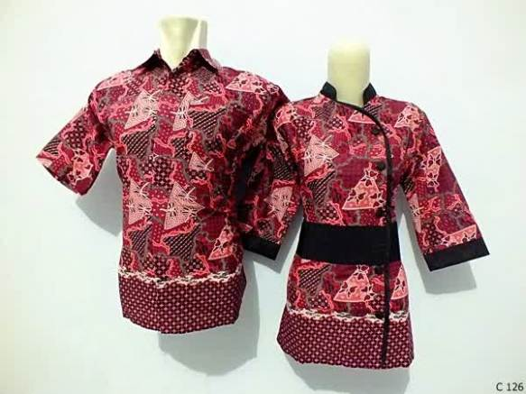 sarimbit blouse batik argreen C126