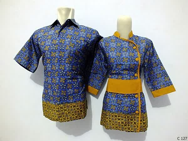 sarimbit blouse batik argreen C127