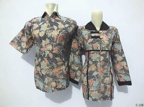 sarimbit blouse batik argreen C128