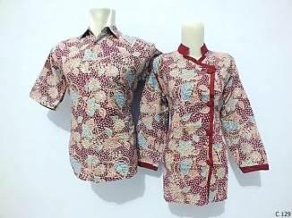 sarimbit blouse batik argreen C129