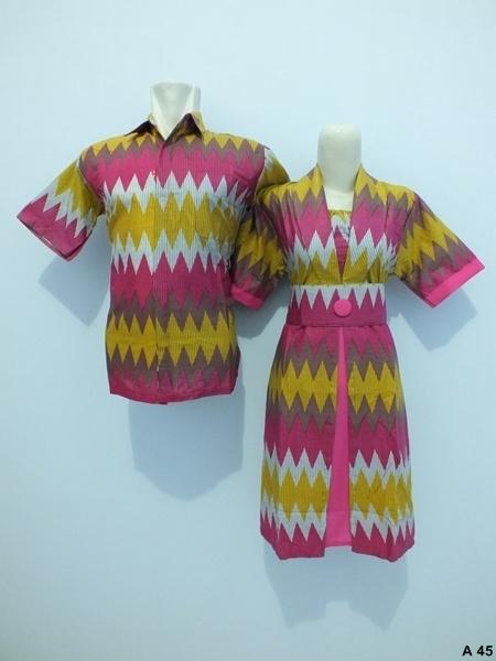 Sarimbit dress batik argreen A45