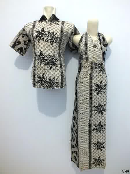 Sarimbit dress batik argreen A49