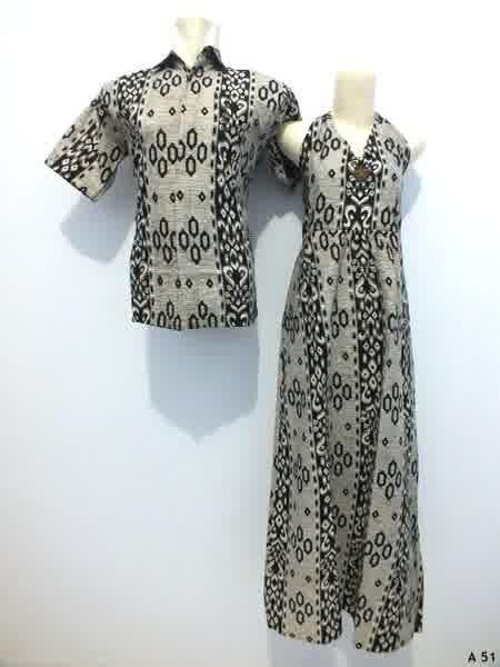 Sarimbit dress batik argreen A51