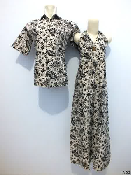 Sarimbit dress batik argreen A52