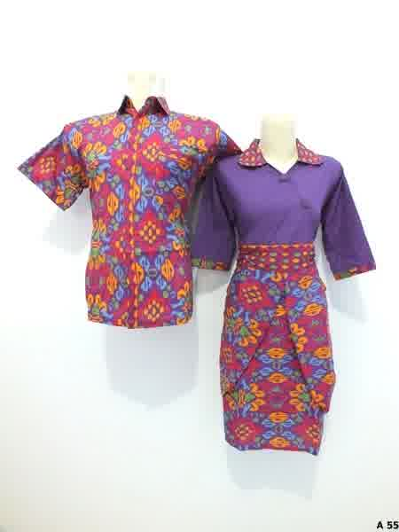 Sarimbit dress batik argreen A55