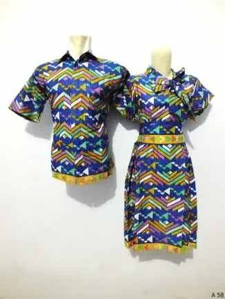 Sarimbit dress batik argreen A58
