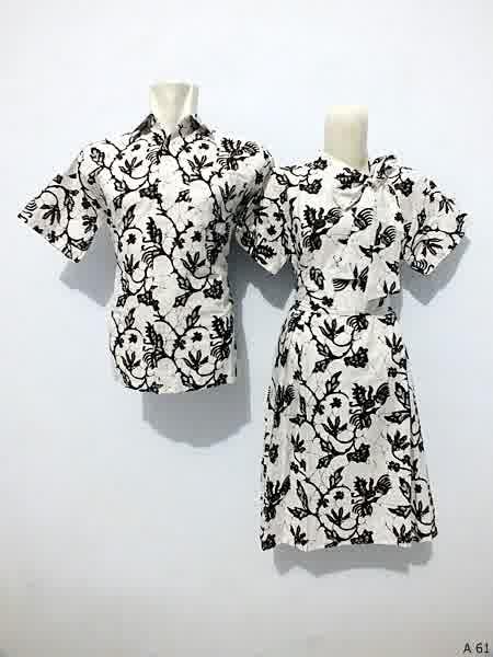 Sarimbit dress batik argreen A61
