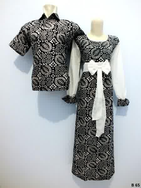 Sarimbit gamis batik argreen B65