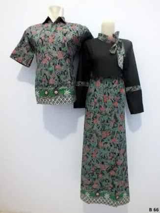 Sarimbit gamis batik argreen B66