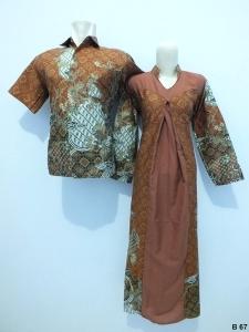 Sarimbit gamis batik argreen B67