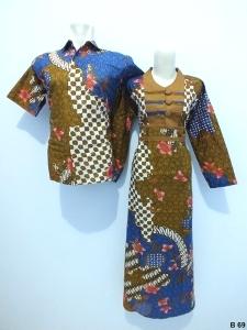 Sarimbit gamis batik argreen B69