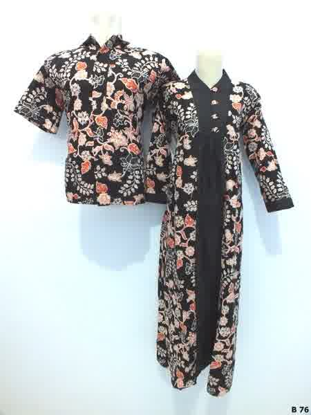 Sarimbit gamis batik argreen B76